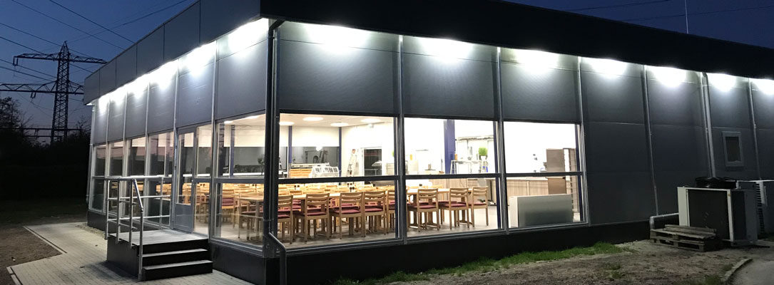 TenneT temporary kitchen and restaurant